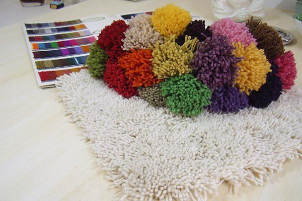 Dise os especiales en lana y acr lico artesanales - Limpieza de alfombras de lana ...
