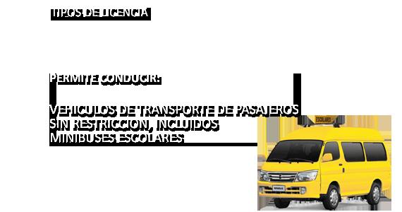 Tipos de Licencia A3