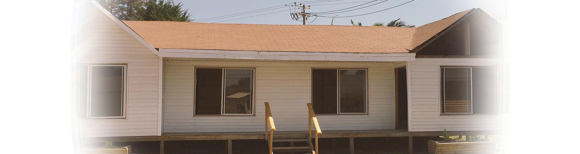 Casas prefabricadas de madera (pino) y siding (PVC)